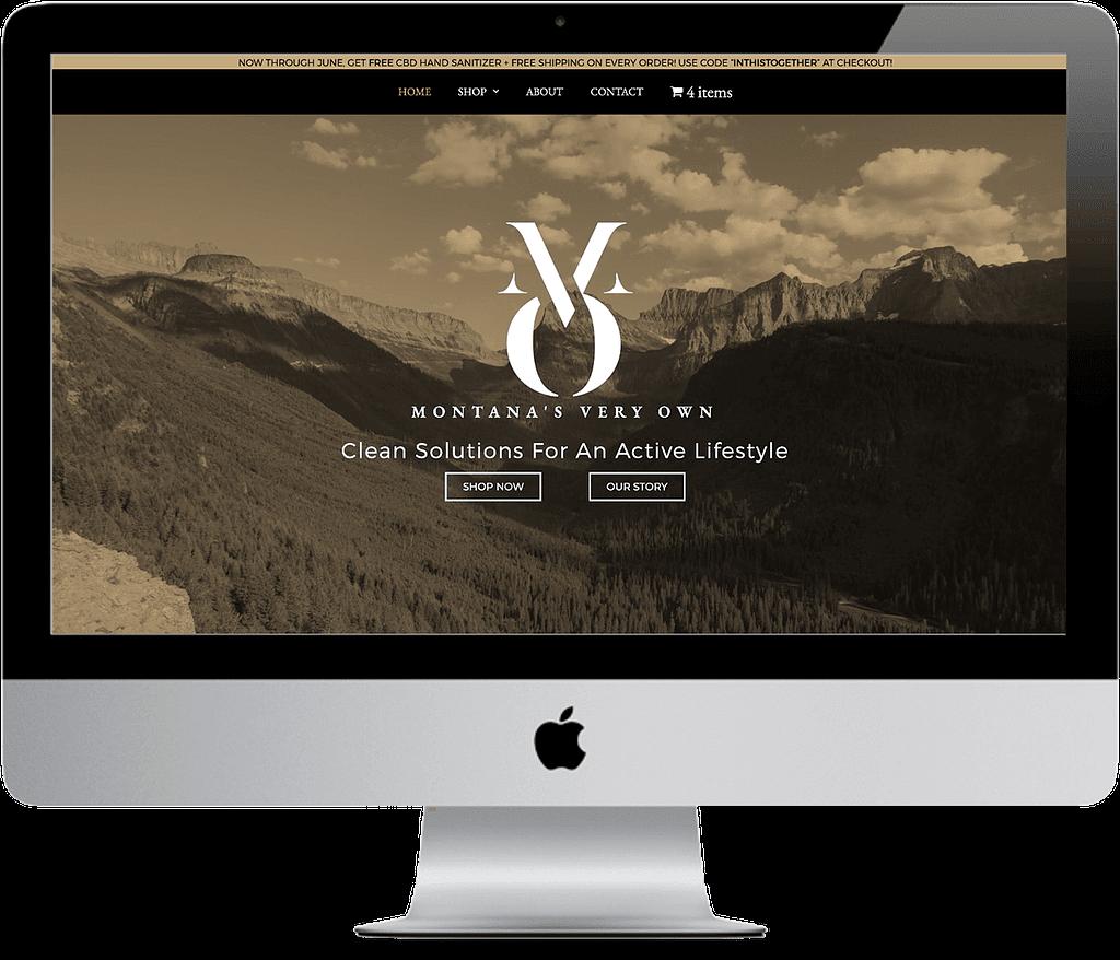 montanas very own mvo cbd web design