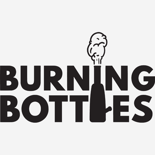 burning bottles logo
