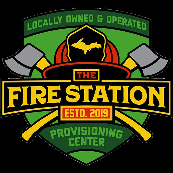 906 fire station dispensary logo