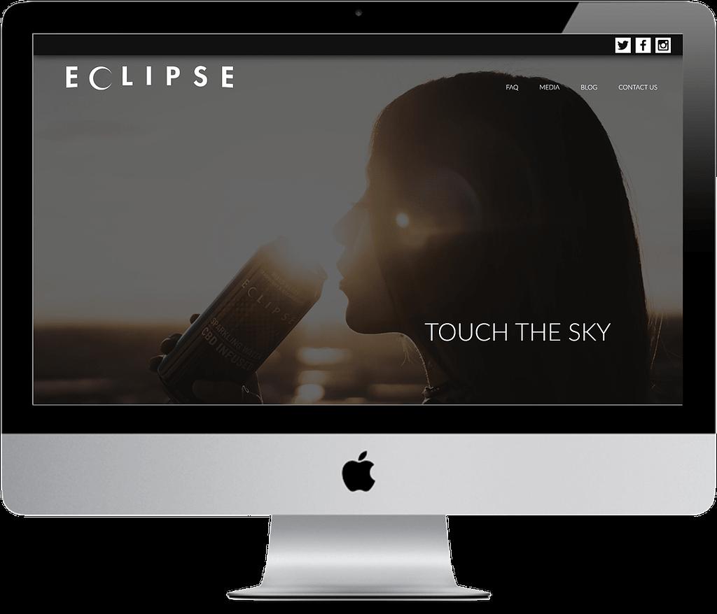 eclipse beverage cbd web design