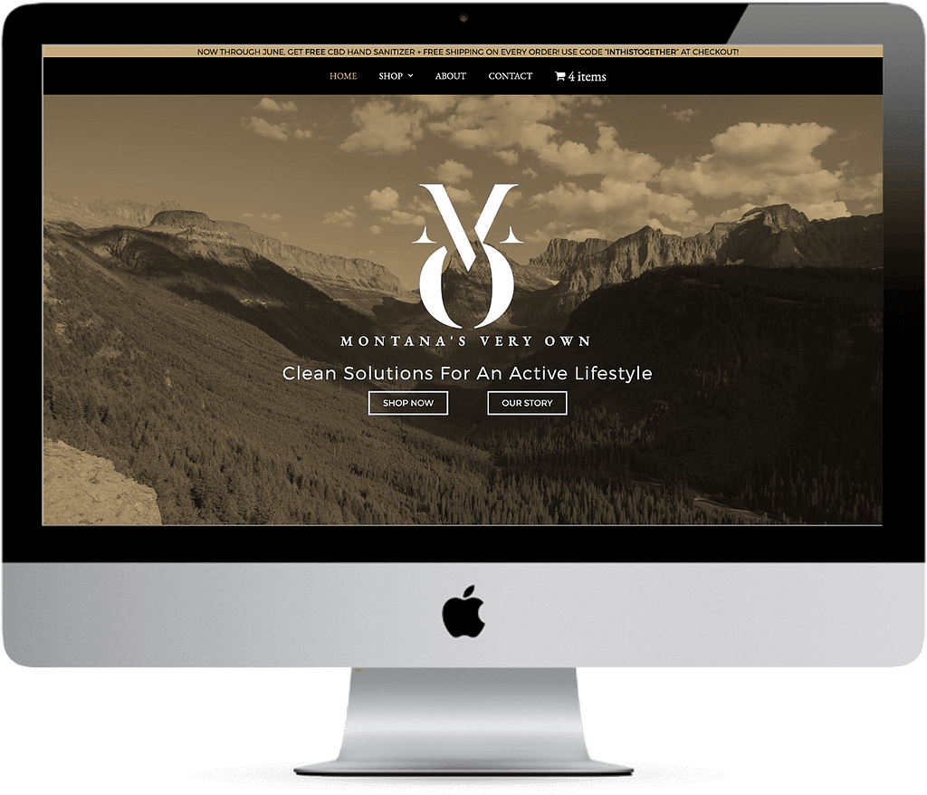 montanas very own mvo cbd web design
