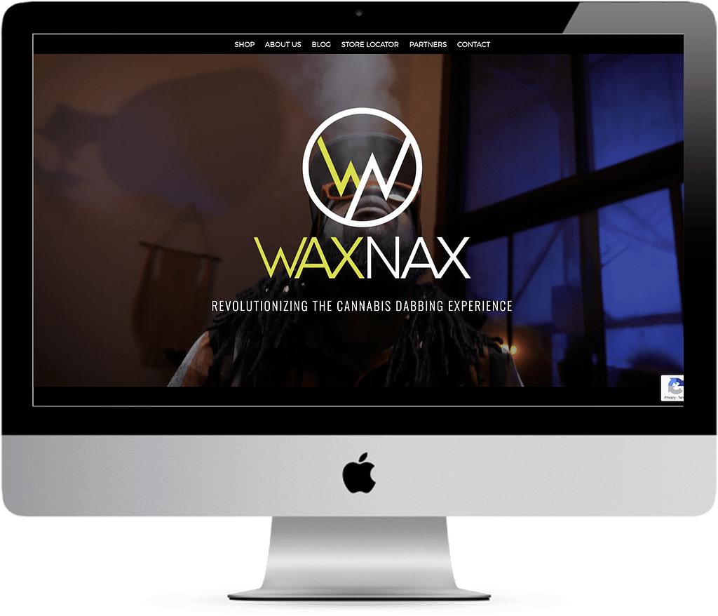 waxnax cannabis website responsive wordpress development