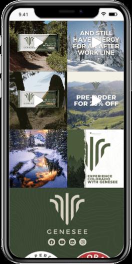 genesee nutrition cbd website development mobile