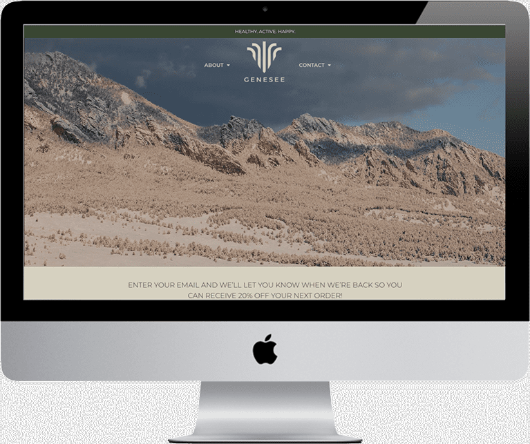 genesee nutrition cbd website development desktop